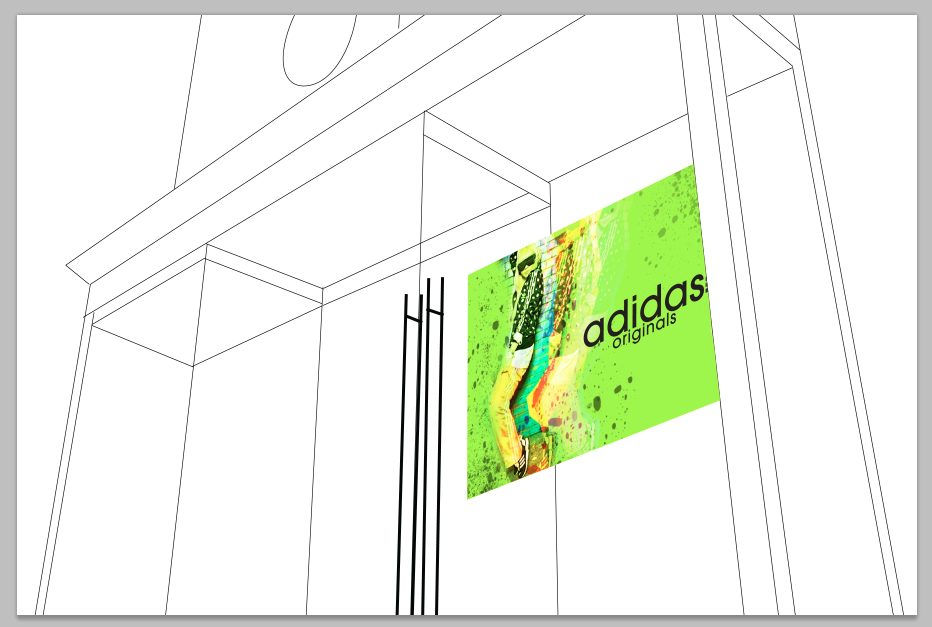 69c53e09707017 mariaA Artwork  Elevation for Adidas Store (Georgetown