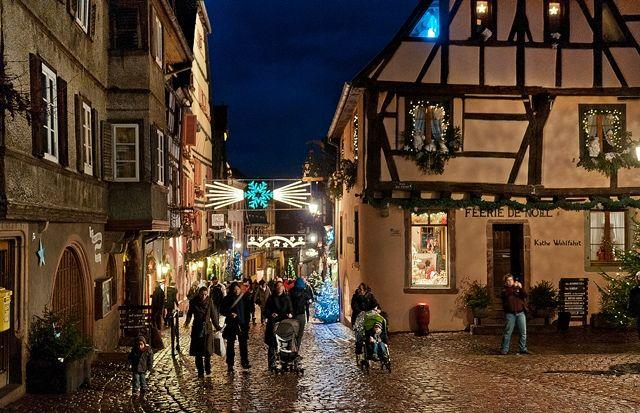 Alsacia-Navidad-Europa