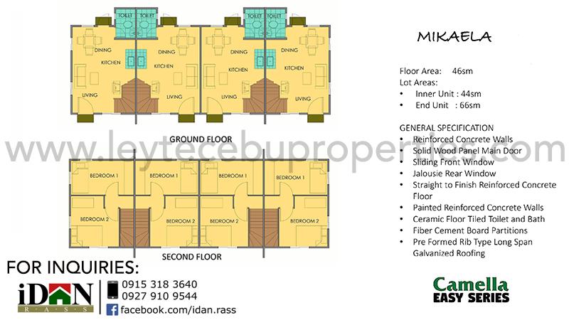 Mikaela - Floor Plan