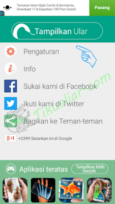 Download Aplikasi Ular Bergerak Di Layar Andorid
