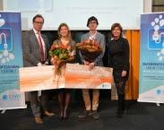 foto winnaars Waternetwerk scriptieprijs 2017. Bron: www.h2owaternetwerk.nl