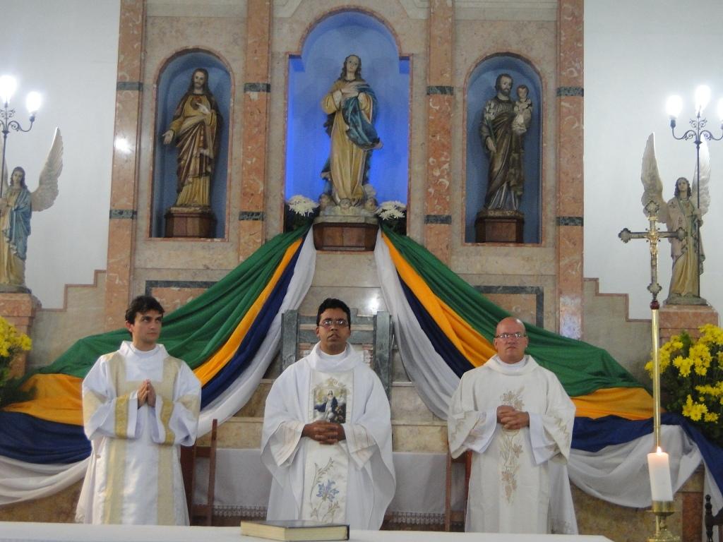 Festa De Nossa Senhora Aparecida: PasCom: Festa De Nossa Senhora Aparecida Na Comunidade Matriz