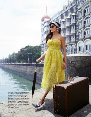 Anushka Sharma in Yellow Dress