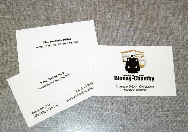Deux Series De Cartes Visite Imprimees Recto Verso Le En Couleurs Avec Des Polymeres Et Noir Compose A La Main Antique