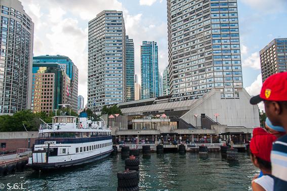 Estacion de Ferry de Toronto para las islas de Toronto