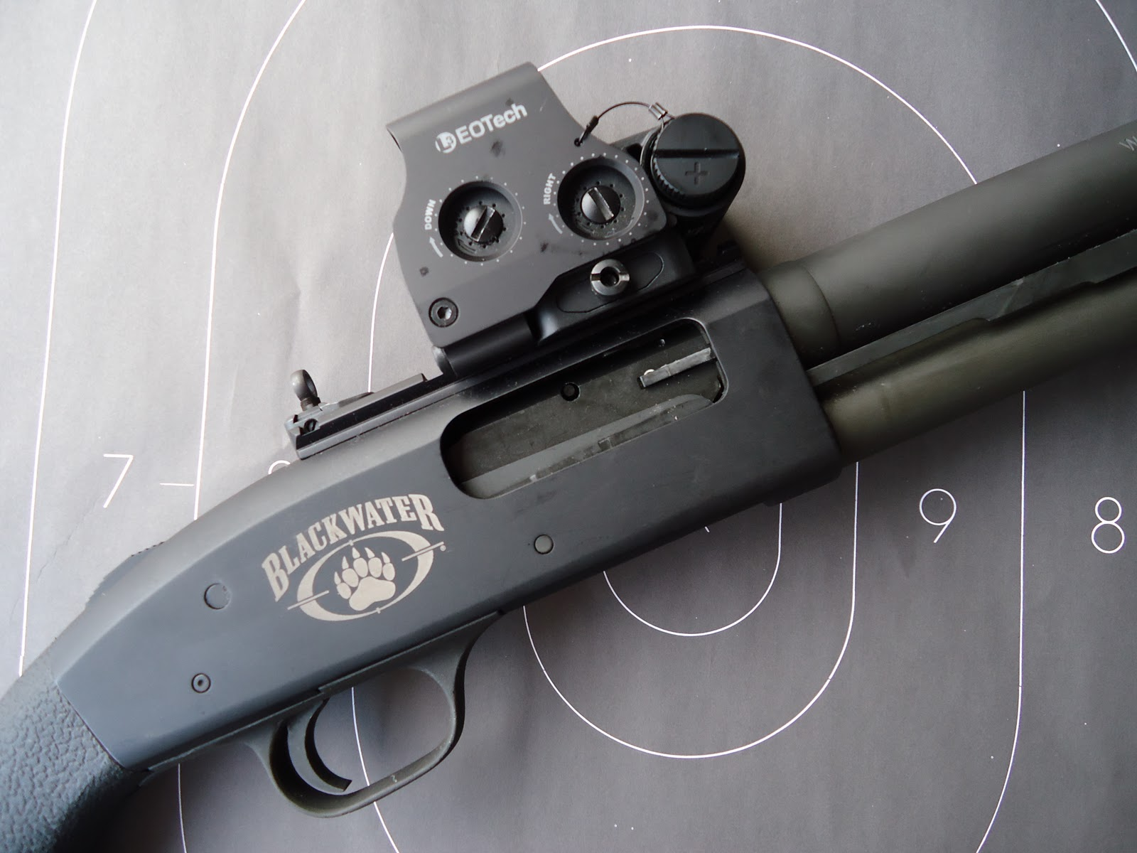 """Unleaded Ink: Mossberg's 590A1 Blackwater Edition """"Meet and"""