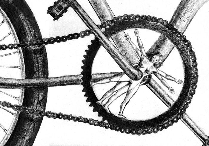 BiciIlustrada. Vida-bici de Rosana Rossi