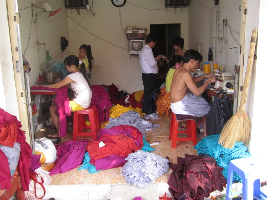 Street Kids in Vietnam: Seven plus 1