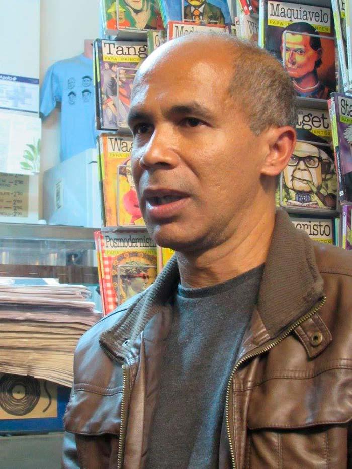 Edgar Borges, autor de La niña del salto