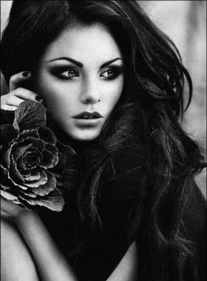 All About Fashion: Black and White Beauty Photography