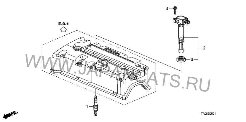 New Honda Civic Hatchback Mk9 2013: Spark plugs