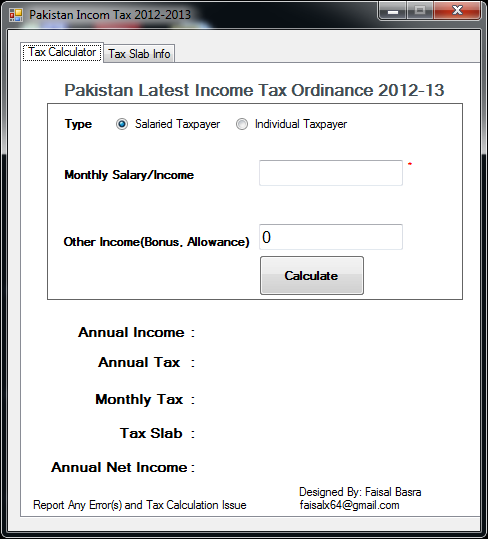 2012 to 2013 tax calculator nz