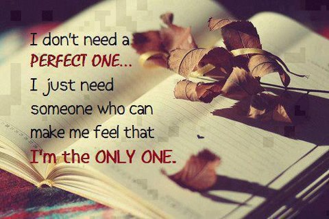 Im The Only One Love Quote Inspirational Picture Quotes