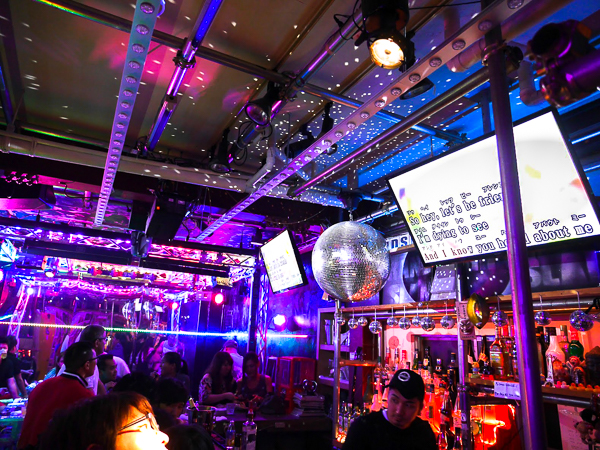 Grand Slam LGBTQ bar in Doyama, Osaka, Japan.