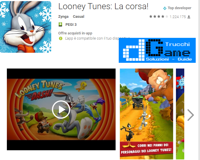 Soluzioni Looney Tunes Dash livello 1-2-3-4-5-6-7-8-9-10-11-12-13-14-15 | Trucchi e Walkthrough level