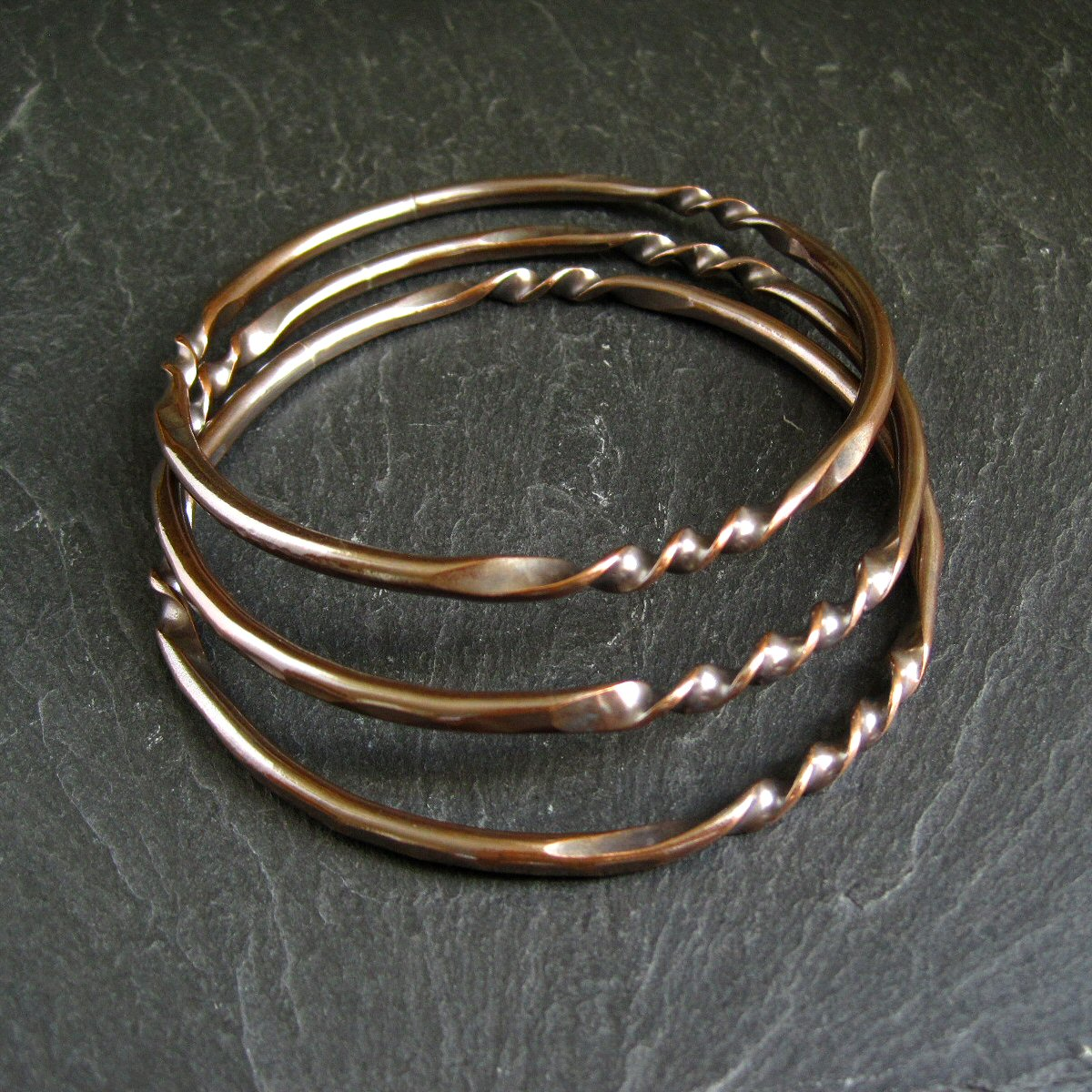 bangles gold abbott bangle lyon rose twist products bracelet