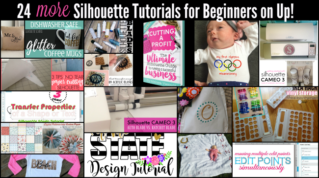 Silhouette CAMEO tutorials for beginners advanced cameo 3 cutting a profit handmade business etsy silhouette help