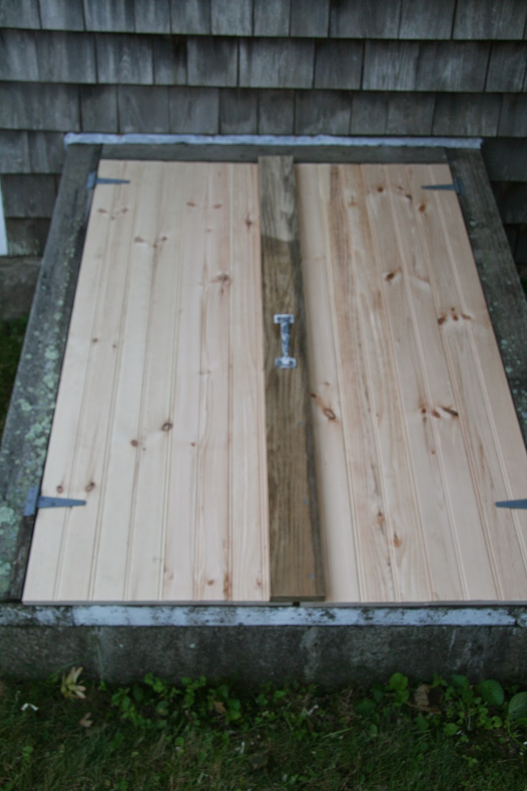 An Old Farm Bat Doors