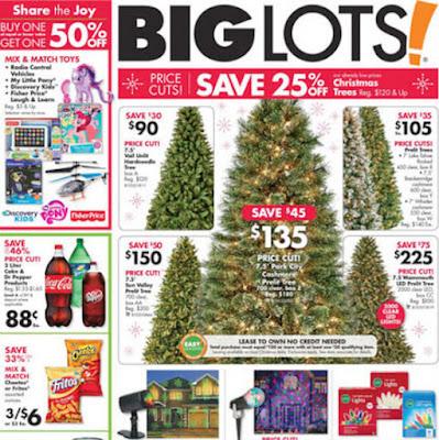 Save Big at Big Lots on Christmas Decor