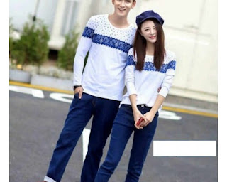 model baju couple casual