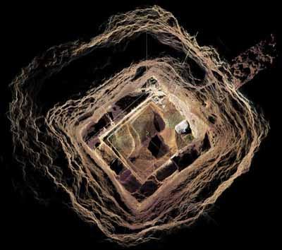tanrıların evi, güneş ve ay tapınağı, mağara
