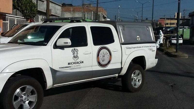 "Sicarios ""montoneros"" ejecutan a Ministerial durante investigación policial en Apatzingán, Michoacan"