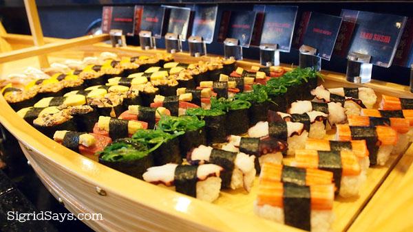 Yakimix SM Bacolod sushi