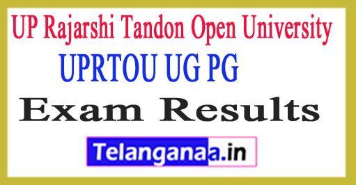 UPRTOU UG PG Result 2018 UPRTOU Allahabad Result 2018