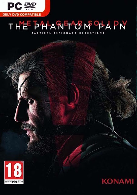 Metal Gear Solid V The Phantom Pain Download Cover Free Game