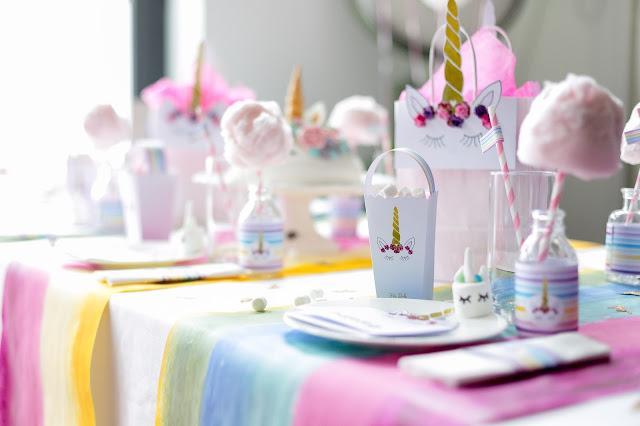 Einfache Einhorn-Torte dekorieren mit Coppenrath & Wiese