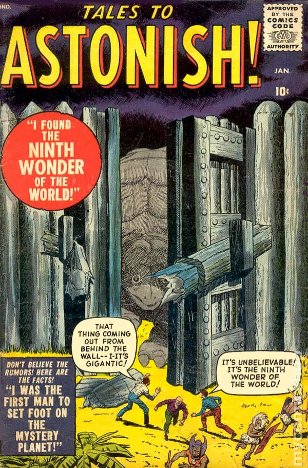 http://www.totalcomicmayhem.com/2013/10/tales-to-astonish-key-comics.html
