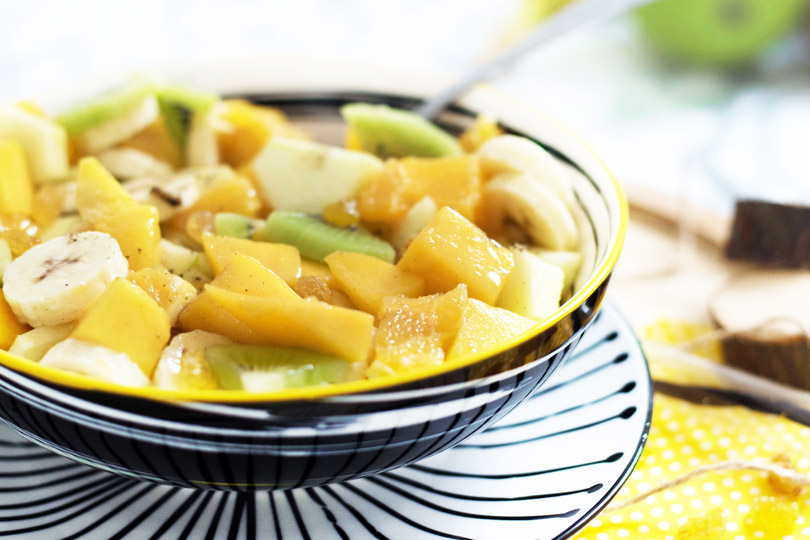 recette Salade de fruits d'hiver