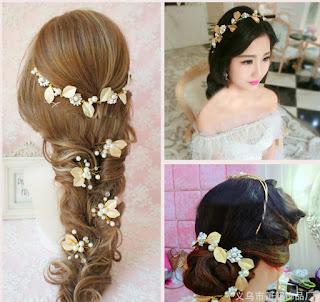 Những mẫu hoa cài tóc cô dâu được yêu thích nhất hiện nay