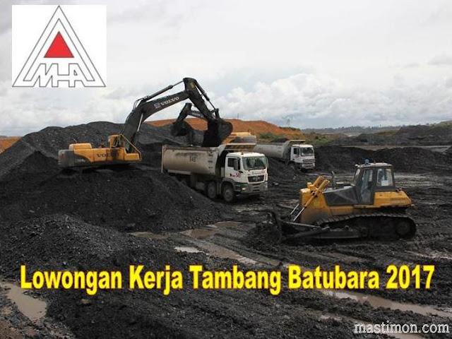 Lowongan kerja Tambang Batubara kalimatan pada PT.MANDIRI HERINDO ADIPERKASA