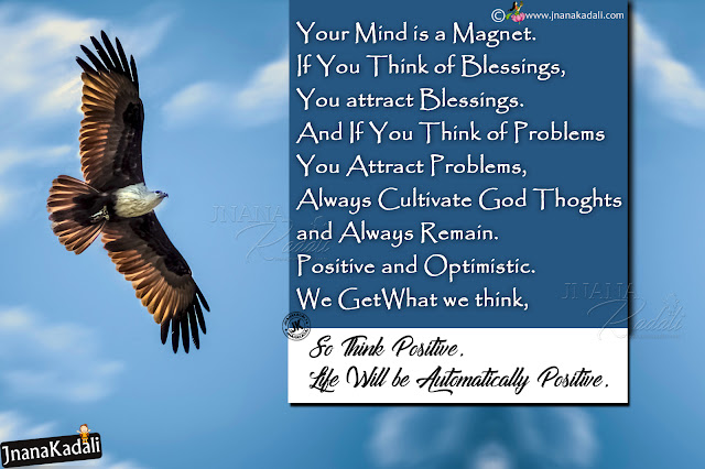 positive attitude messages in english, life changing positive thinking messages in english