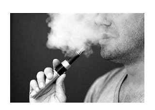 How does electronic cigarette help smoking cessation?