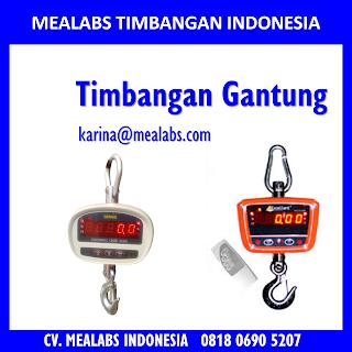 Jual Timbangan Gantung atau Crane scale Mealabs Timbangan Indonesia
