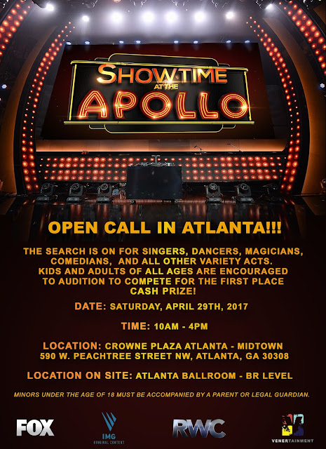 Showtime At The Apollo in Atlanta (April 29, 2017)