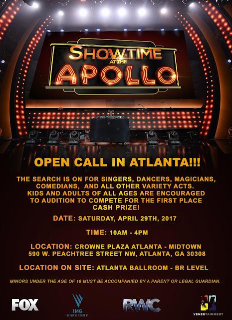 Showtime At The Apollo in Atlanta (April 29, 2017)