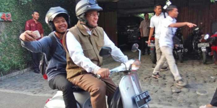 Jadi Gubernur, Anies Baswedan Akan Sering Pakai Sepeda Motor