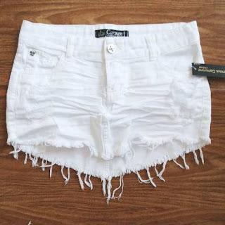 modelo de saia jeans branca - dicas e fotos