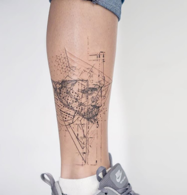 Tatuagem geométrica