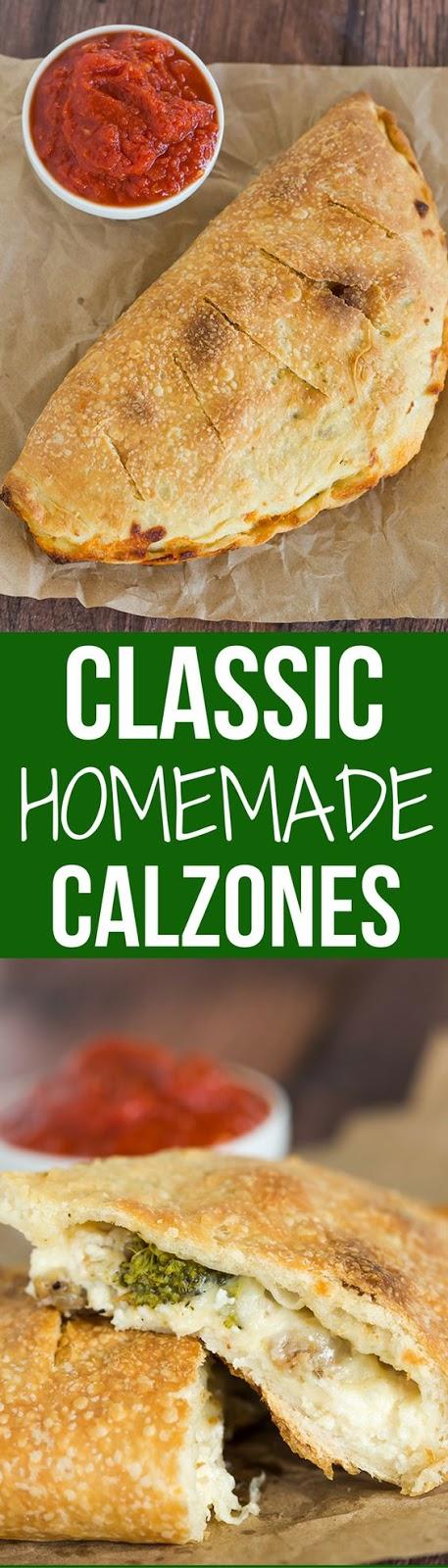 Classic Calzones