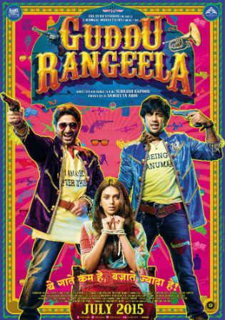 Guddu Rangeela 2015 DVDRip 700MB Full Hindi Movie Download x264 Watch Online Free bolly4u