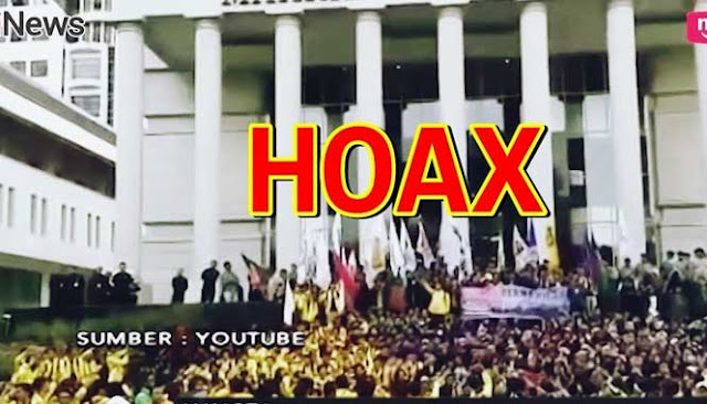 Alasan Sebar Hoax Rusuh di MK: Agar Masyarakat Bergerak Turunkan Presiden
