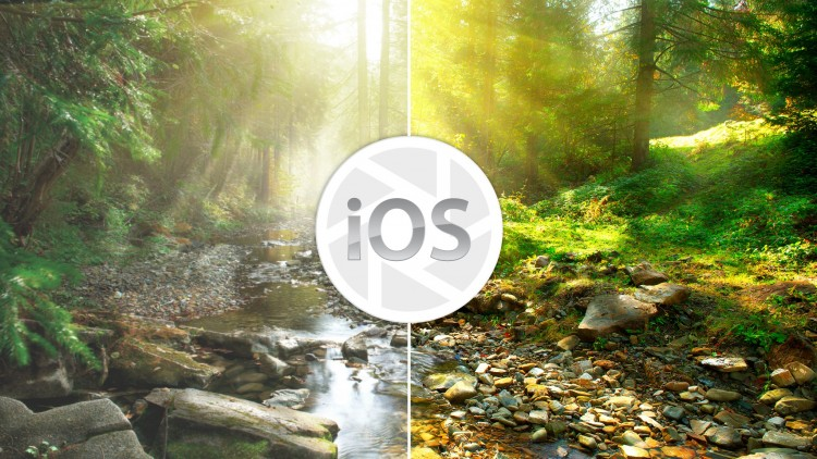 Edit photos like a professional photographer using iOS apps - Udemy Course