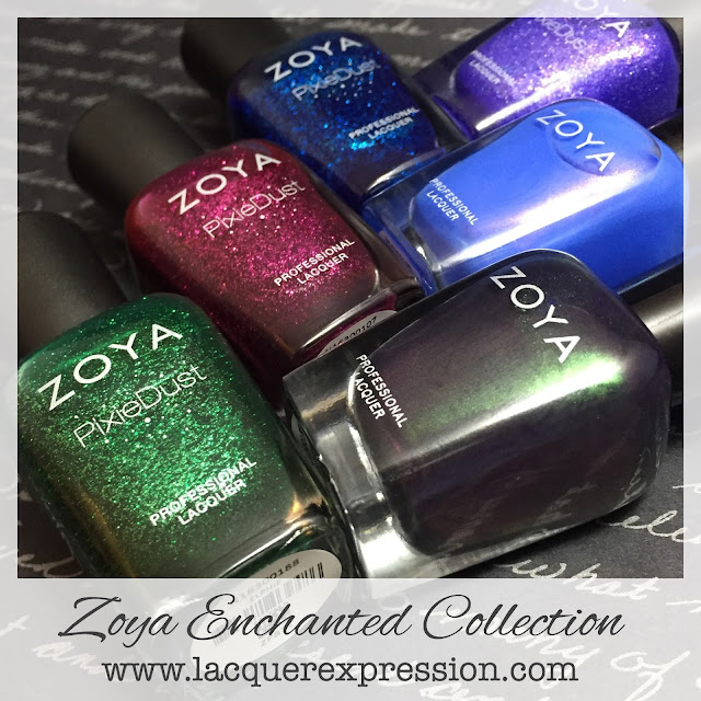 Enchanted Holiday 2016 nail polish collection by Zoya