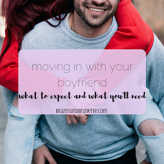 15 things you'll need when you move in with your significant other - amazon echo & smart switch, fireTV stick, bar, dishwasher magnet, extra basics, grocery rebate apps, headphones, mouthwash, phone charges, poo pouri, recipe book, shopping list pad, sleep set, trashcan with a lid, and a wreath | brazenandbrunette.com