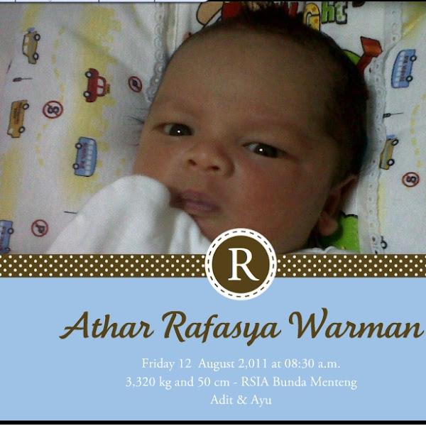 Welcoming Our Bebito - Athar Rafasya Warman