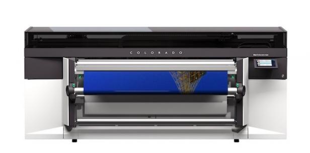 Canon'dan yeni bir UV Baskı makinesi, Océ Colorado 1640 çıktı...